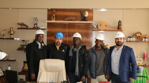 Globmac hosts visitors from Senegal together with Boğaziçi Fair Organization.