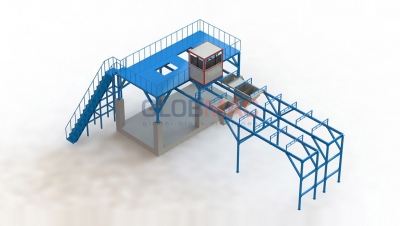 Mixing Platforms And Systems Pneumatic Air Feeding