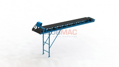 Belt Conveyors For Raw Materials