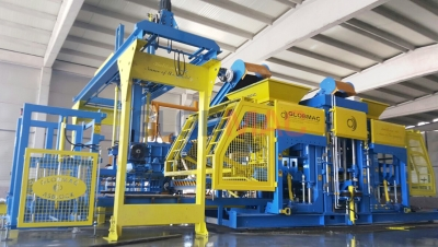 KB 36Full Automatic Concrete Parquet and Block Production Plant